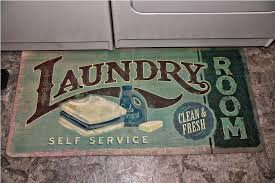 Image of: laundry room rugs and mats