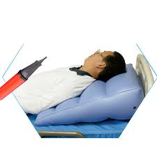 Light Bed Rest Details About Triangle Body Cushion Waist Pad Soft Inflatable Bed Rest Pillow With Inflator