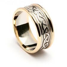 Mens Celtic Wedding Rings Celtic Wedding Bands Irish Wedding Rings For Men