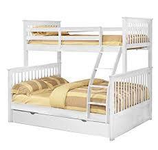 Amazon.com: Bella E. E4522814 + 45231114 Paloma, Twin/Full bunk Bed ...