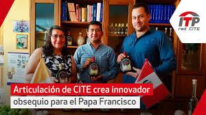 Articulación De Cite De La Red Del Itp Crea Innovador Obsequio Para El Papa Francisco
