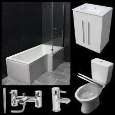 Bathroom Suites Ebay Kudos Original Straight Sliding Door 6mm Glass Bathroom Shower