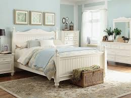 white beach furniture. Furniture Modish Beach Cottage Style Bedroom Including Rectangular Wicker Laundry Basket Above Modern Floral Wool White R