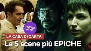 Le 5 scene più EPICHE de LA CASA DI CARTA votate da VOI
