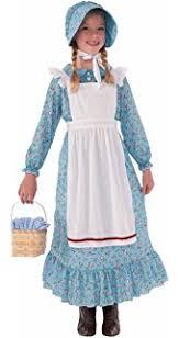 pioneer woman clothing 1800. forum novelties girls pioneer costume, blue, large woman clothing 1800