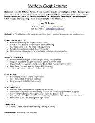 How To Write A Resume Singapore How To Write Resume Singapore Sample Template Make Good Build 5