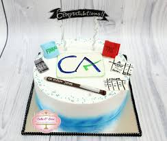 Charted Accountant Cake For A Chartered Accountant In 2019 Chartered