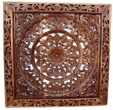 thai carved wood wall panels wall decor lotus flower teak wood panel carved thai art on lotus panel wall art with thai carved wood wall panels wall decor lotus flower teak wood