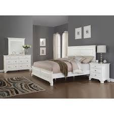 Simple Innovative White Bedroom Sets Modern White Tufted Bedroom Set ...