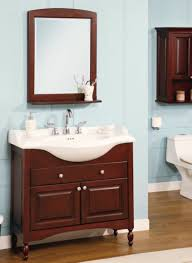 Space Saving Cabinet Bathroom Magnificent Narrow Bathroom Cabinet With Wicker Baskets