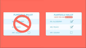 How To Make Ballots On Microsoft Word Approval Voting The Center For Election Science