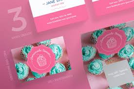 Homemade Card Templates Homemade Sweets Business Card Design Templates Kit