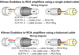 klimax exaktbox Xlr To Phono Wiring Diagram [image xlr2rcarevb jpg] xlr to phono wiring diagram
