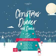 Christmas Event Christmas Dinner Dance Feat The Incredibles Sticky Tickets
