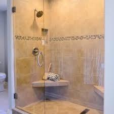 corner tile shower. Contemporary Corner Large Tiled Shower With Seats On Corner Tile