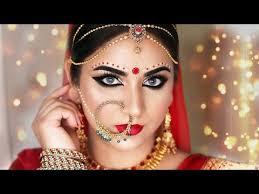 glamorous bengali bridal makeup indian bridal makeup tutorial smithadbeauty