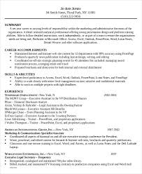 Legal Secretary Resume Template Best of Legal Assistant Resume Template 24 Legal Administrative Assistant
