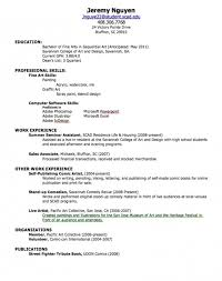 Career Kids My First Resume Career Kids My First Resume ...