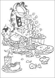 Eten Eten En Nog Eens Eten Kleurplaat Gratis Kleurplaten Printen