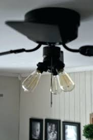 how to remove ceiling fan and replace with light fixture
