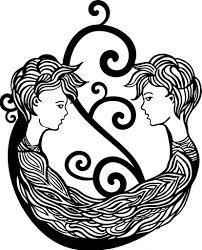 символы на теле татуировка близнецы