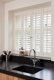 Kitchen Best Blinds For Windows Over Sink Window Large Roman Best Blinds For Kitchen Windows