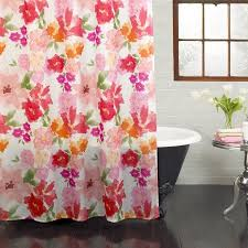 floral shower curtain. Excell Posie 70\ Floral Shower Curtain