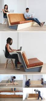 Make This DIY Modern Couch That Also Doubles As A Desk   Modern ...