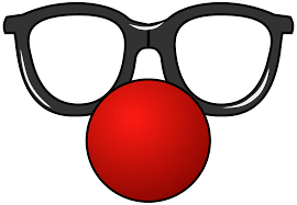 Funny Glasses and Red Nose clipart. Free download transparent .PNG |  Creazilla