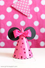 minnie mouse party hats on girllovesglam com