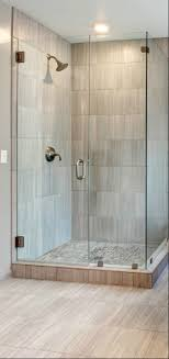 Compact Shower Stall Showers Corner Walk In Shower Ideas For Simple Small Bathroom With