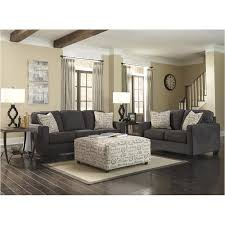 Ashley Furniture Alenya Charcoal Living Room Sofa