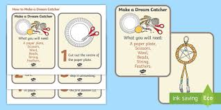 The Word Alive Dream Catcher How to Make a Dreamcatcher Activity Cards Native Americans 56