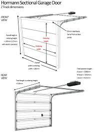 residential door height sectional garage door dimensions z track wide minimum residential door height minimum interior residential door height
