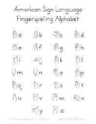 Asl Chart Printable American Baby Sign Language Chart