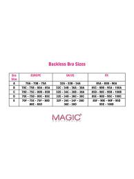 32f Bra Size Chart Wing Bra