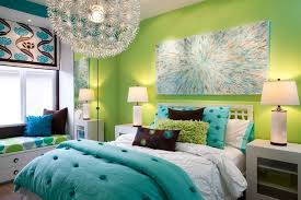 Small Picture Blue And Green Bedroom Decorating Ideas Bedroom Retro Green