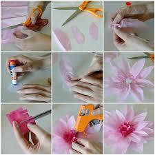 Paper Flower Making Video Tissue Paper Flowers Multicube Co