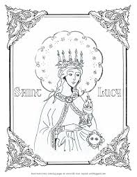 awesome narnia coloring pages reepicheep contemporary entry level free st lucy coloring page life love sacred art free st lucy coloring p on charming people