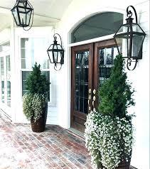 exterior lantern lighting. Front Door Lighting Outside Lights Outdoor Porch Impressive Lanterns For Exterior . Lantern U
