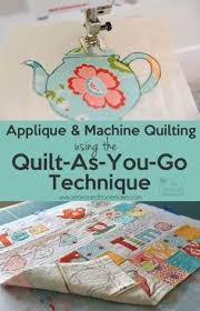 8 best Cotton Theory Quilting images on Pinterest   Quilting tips ... & The Quilt-As-You-Go Method Adamdwight.com