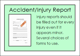 Free Home Daycare Forms Accident Injury Report Form