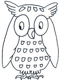 Kleurplaat Uil Embroidery Pinterest Owl Coloring Pages Owl