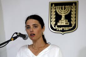 new i transparency bill chills dissent ameinu ayelet shaked s new justice minister of the far right jewish home party