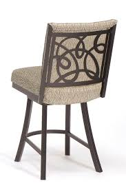 upholstered swivel counter stools. Modren Counter Tricau0027s Swirl And Comfortable Upholstered Swivel Counter Stool With  Back Design In Stools O