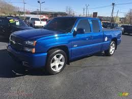 All Chevy chevy 1500 ss : 2003 Chevrolet Silverado 1500 SS Extended Cab AWD in Arrival Blue ...