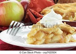 apple pie slice with whipped cream. Wonderful With Slice Of Apple Pie  Csp7420504 Intended With Whipped Cream A