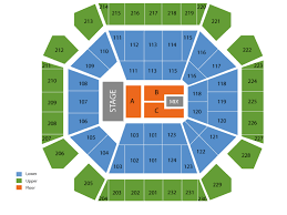 United Supermarket Arena Seating Chart And Tickets