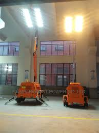 Truck Mounted Led Light Tower Hot Item Vehicle Mounted Led Mobile Light Tower With Saa Certification