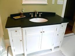 White bathroom cabinets with granite Oil Rubbed Bronze Hardware Great White Bathroom Cabinet Ideas Incredible Hmcreativosco Decoration Awesome White Bathroom Cabinet Ideas About With Cabinets